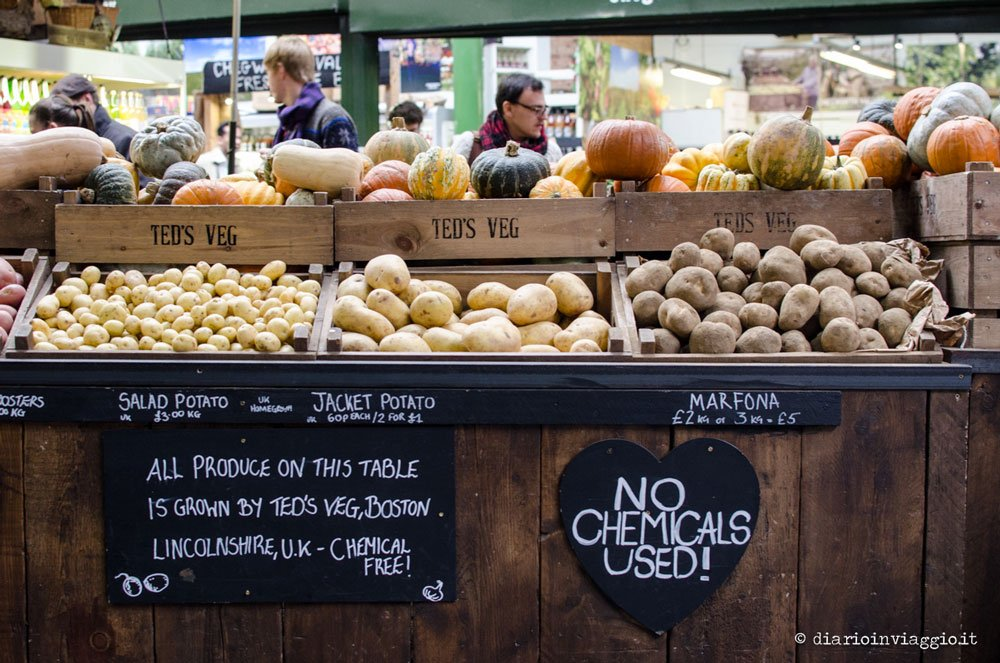 mercatini di londra borough market