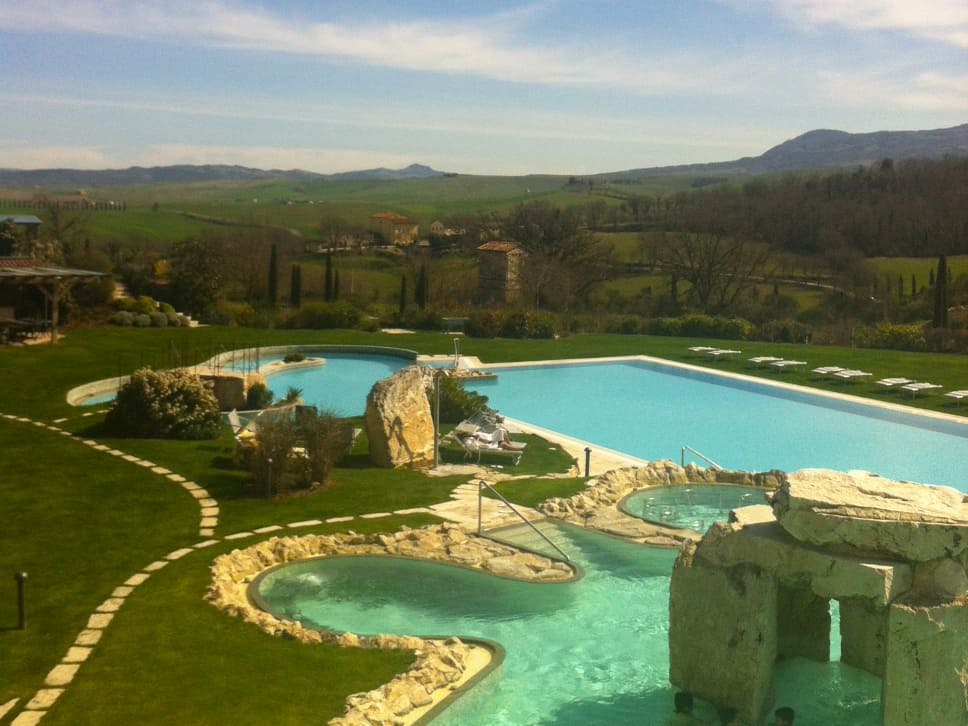 Total relax nella montagna toscana a bagno vignoni - Distanza da siena a bagno vignoni ...
