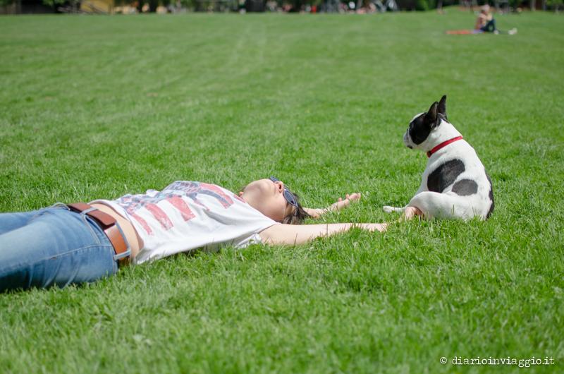 Relax al parco di Hellbrunn