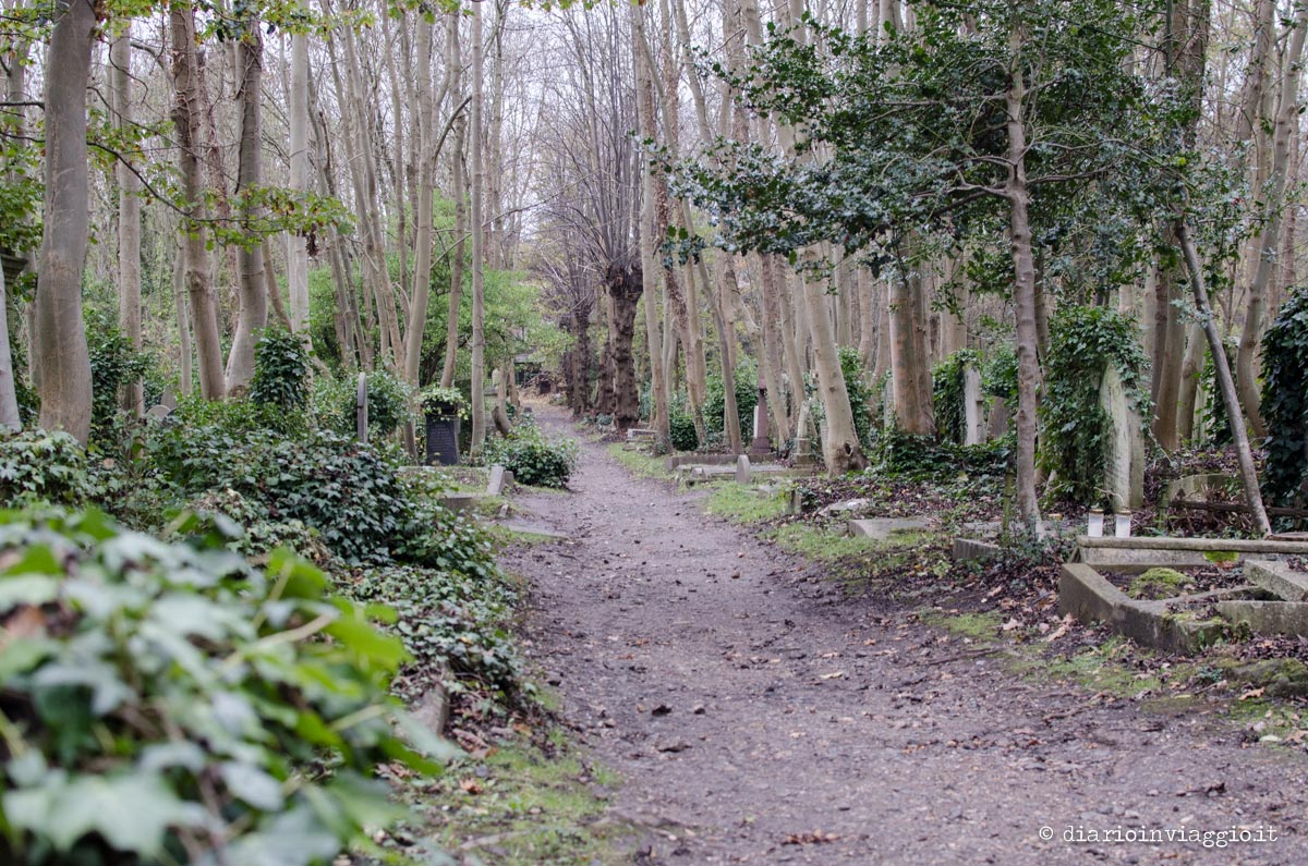 Highgate Cemetery Londra