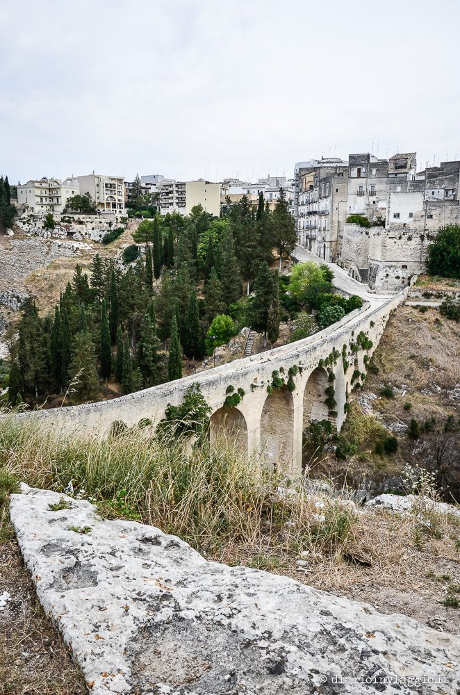 Ponte Viadotto Acquedotto sul torrente Gravina