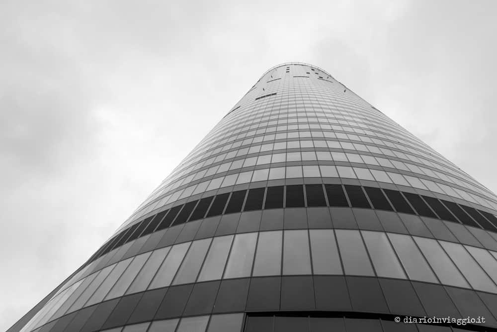 vista dalla sky tower breslavia