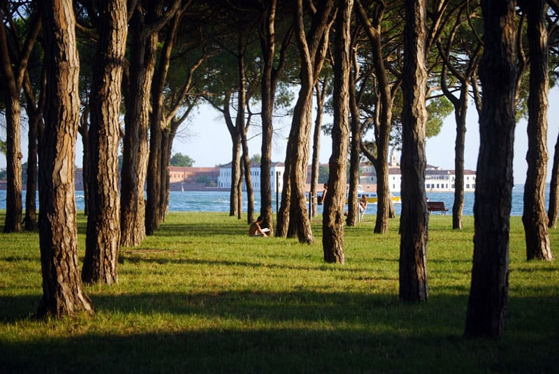 giardini sant'elena venezia
