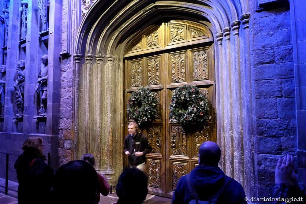 ingresso di hogwarts