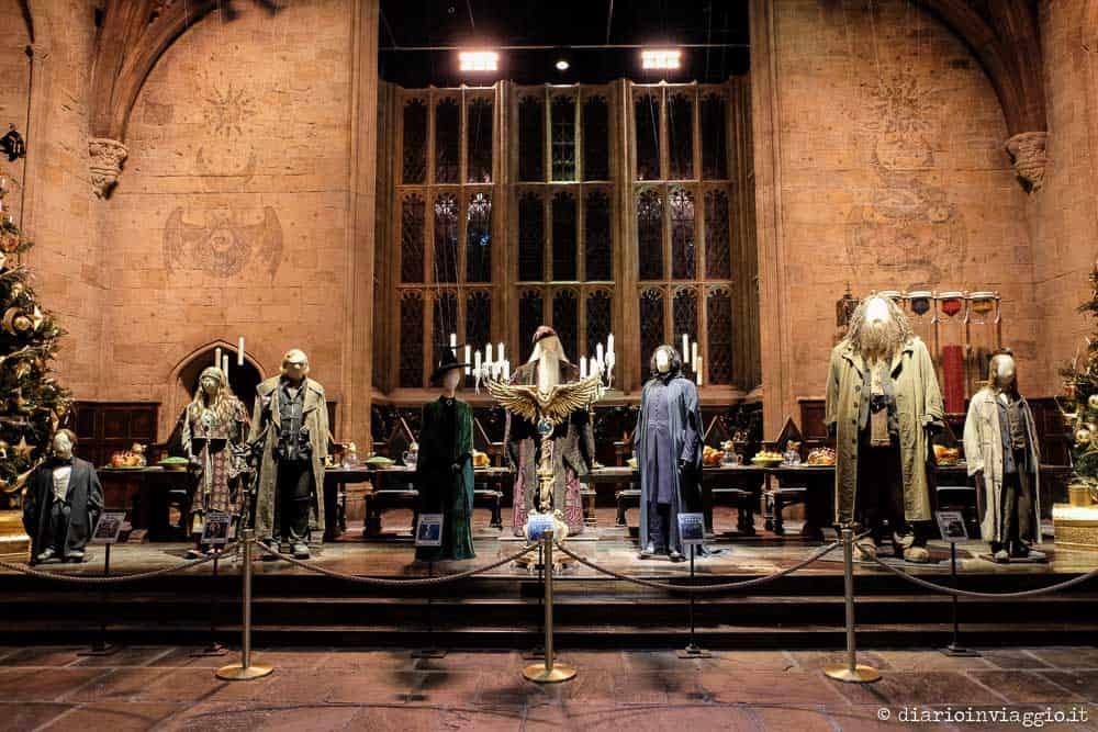 sala da pranzo di hogwarts