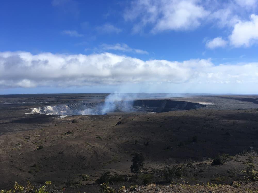 caldera vulcano kilauea