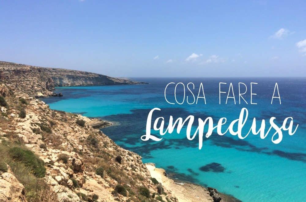 cosa fare a Lampedusa