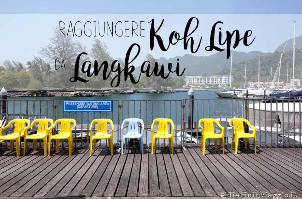 raggiungere koh lipe da langkawi