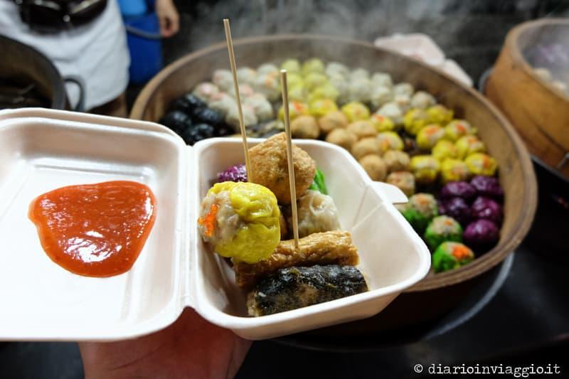 Alor street food night market Kuala lumpur