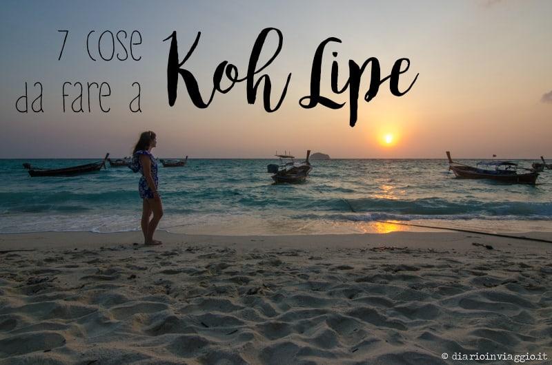 7 cose da fare a Koh Lipe
