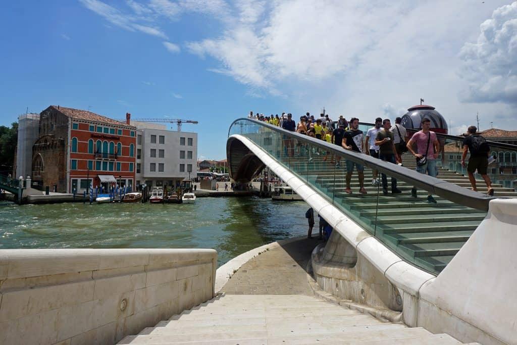 ponte della costituzione venezia