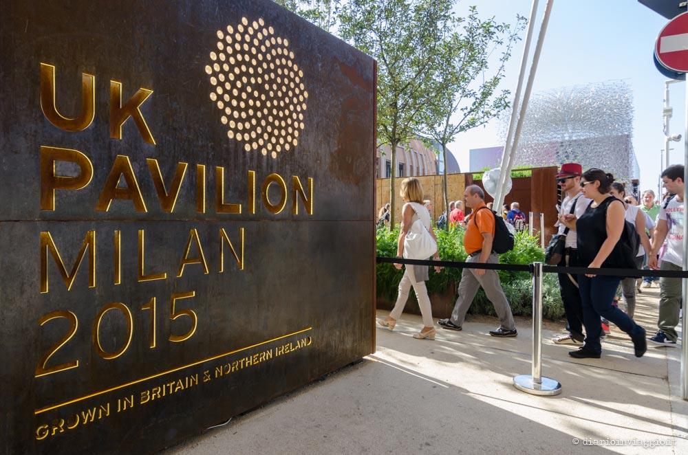 Padiglione UK expo Milano 2015