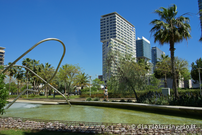 Parco Diagonal del Mar cosa vedere a Barcellona