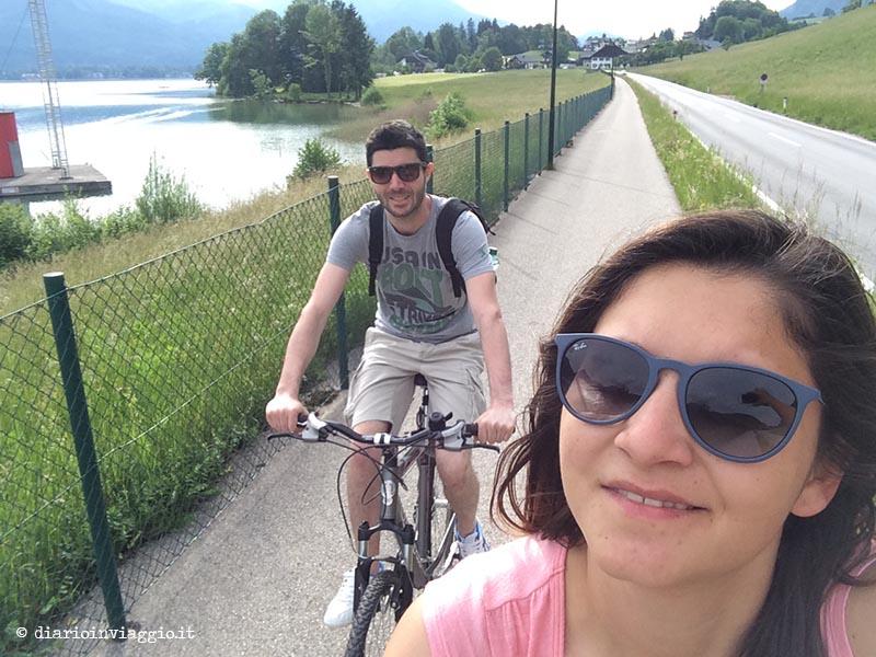 Bicicletta al Wolfgangsee