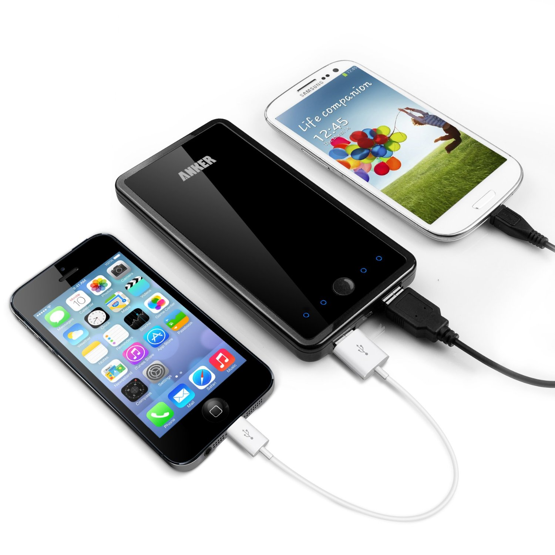 Caricabatterie per smartphone e tablet