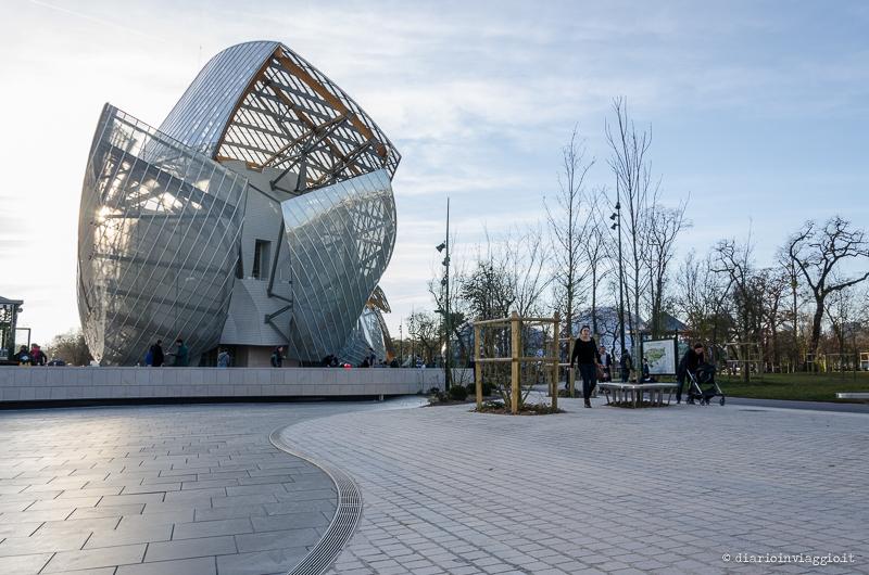 Fondation Luis Vuitton nel Bois de Boulogne