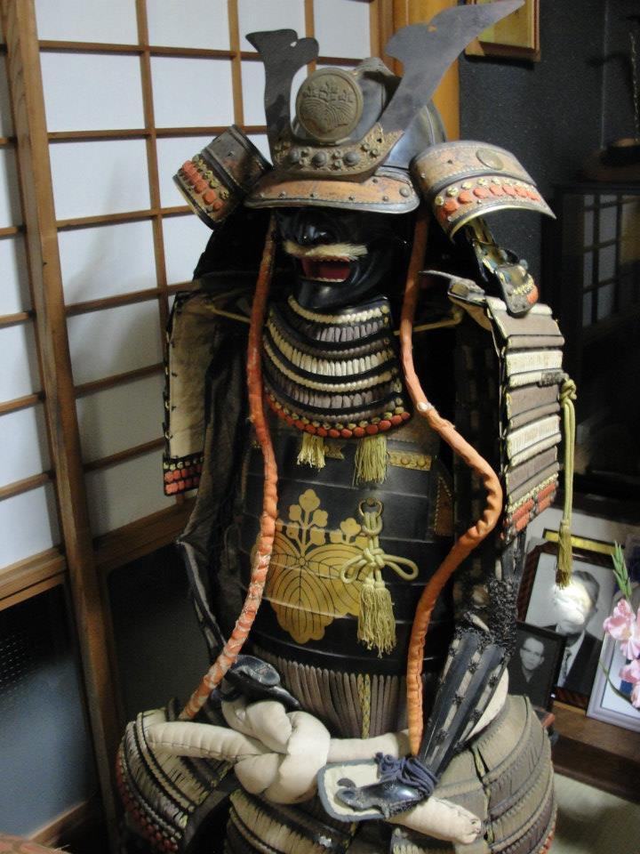samurai ossa di drago