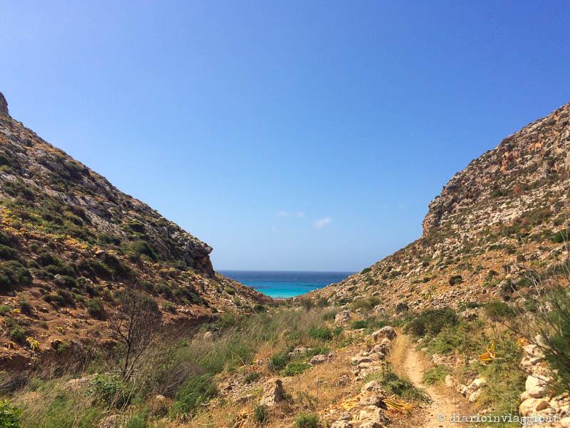 Cala Pulcino, Lampedusa