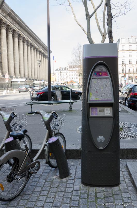 Velib, il noleggio bici di Parigi