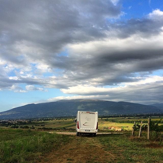 Agosto è stato il nostro ormai consueto viaggio in camper, stavolta alla scoperta dell'Umbria