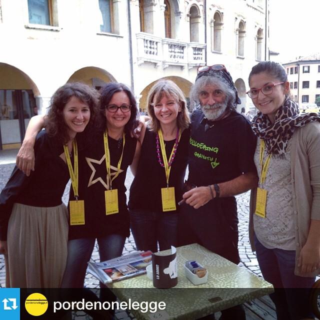 Una bellissima avventura con persone speciali a PordenoneLegge