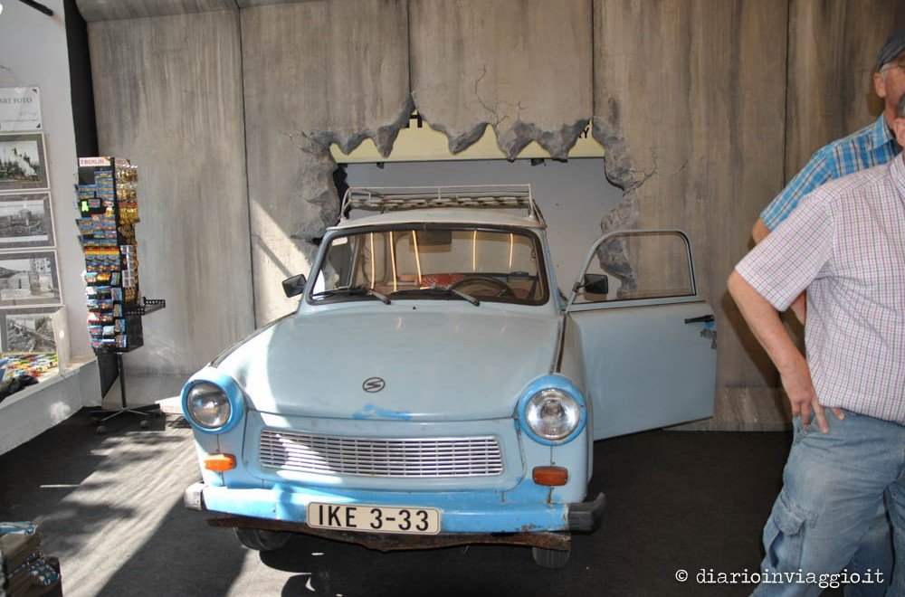 Riavvolgiamo il tempo nel museo della DDR a Berlino