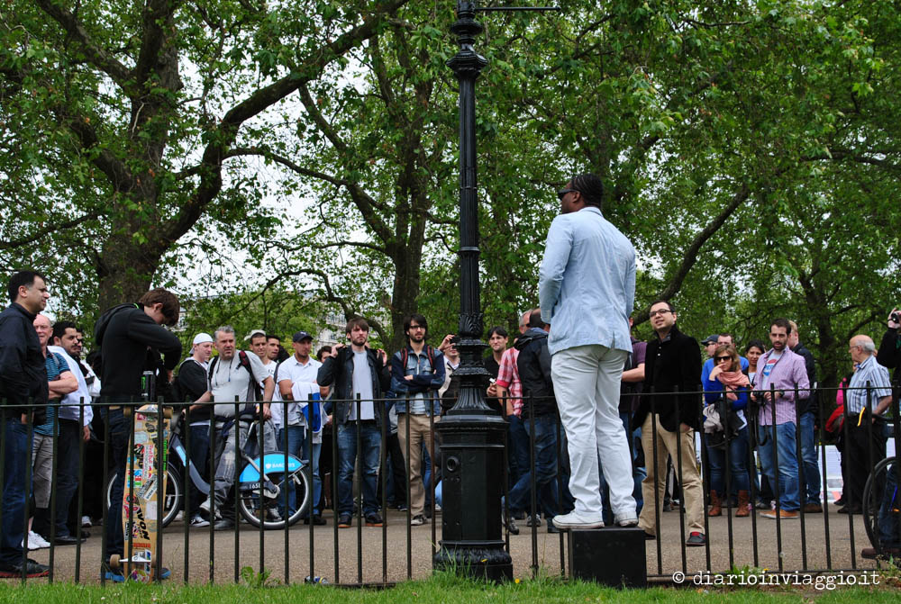 speakers corner londra