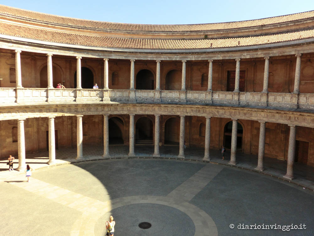palazzo di carlo V alhambra