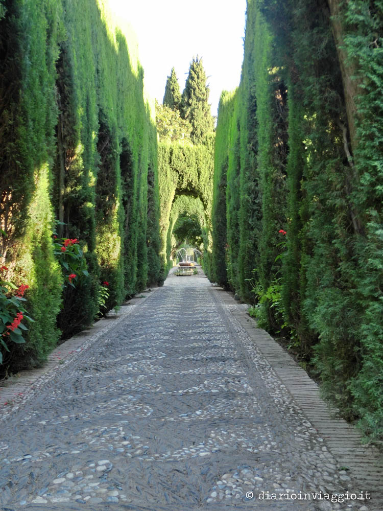 giardini di generalife alhambra