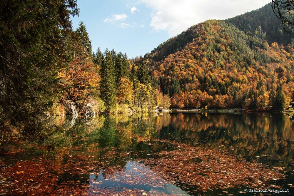 Fotografare i Laghi di Fusine, ogni stagione è buona!