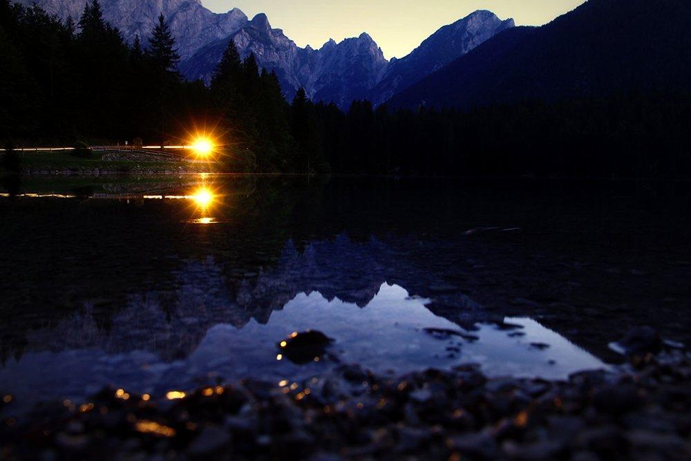 moonlight trekking