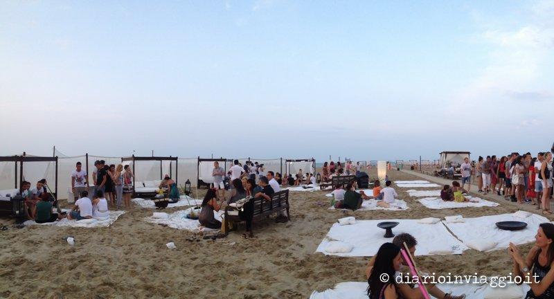 Una serata per bagni a Marina di Ravenna