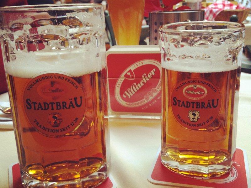 Dove mangiare e bere a Villach: la birreria Villacher