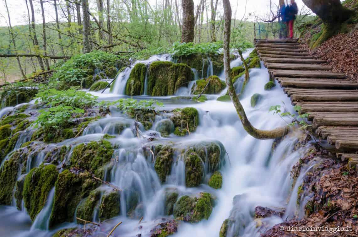 Le foto del parco naturalistico di Plitvice