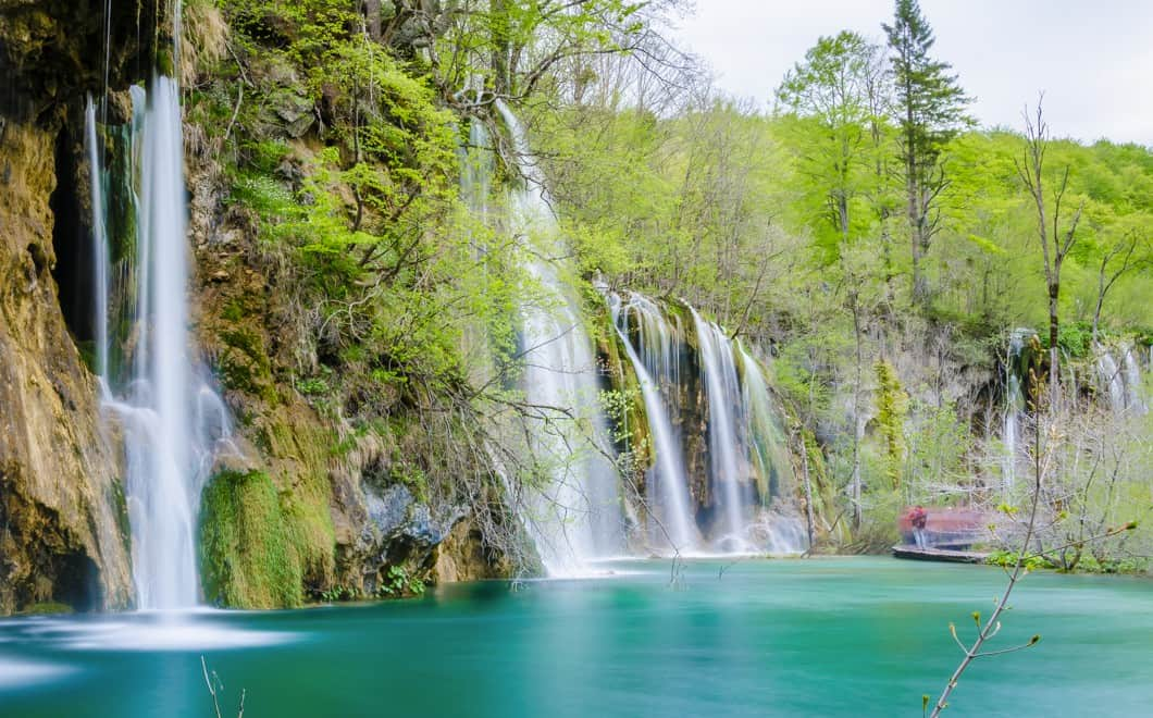 Itinerario in camper ai laghi di plitvice for Disegni di laghi