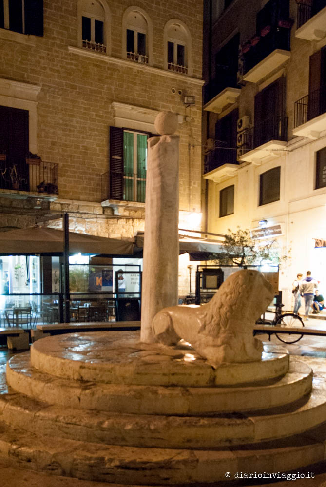 Colonna di Piazza Mercantile Bari