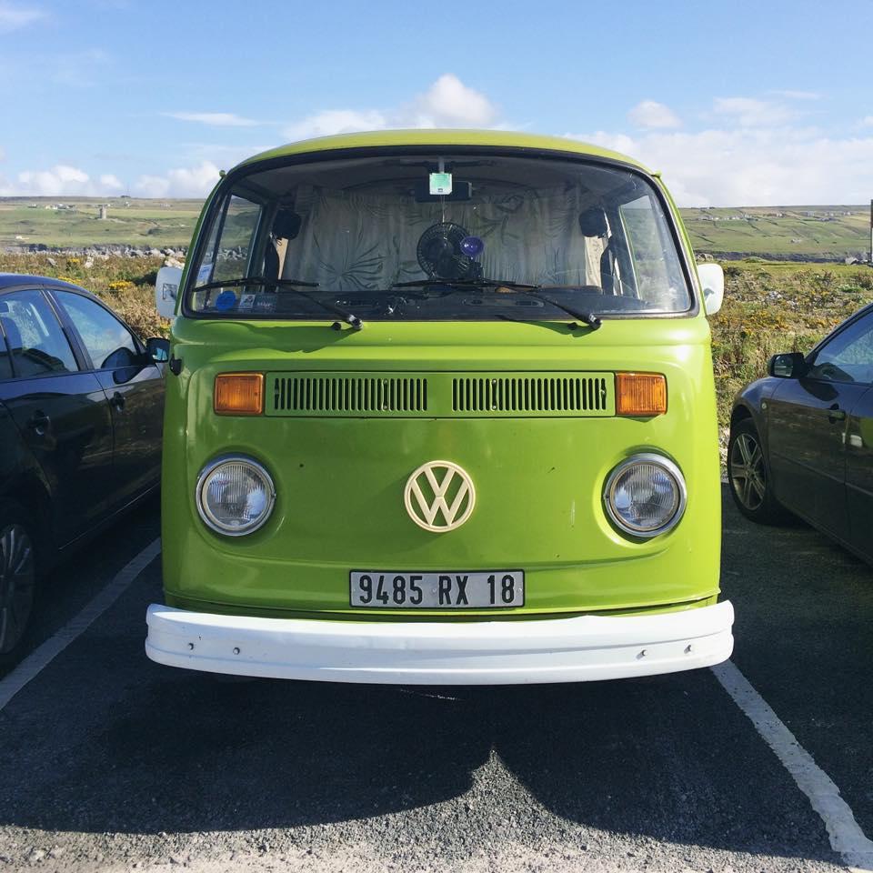 viaggio in camper in Irlanda
