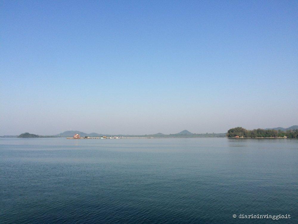 Trat dal ferry per Koh Chang