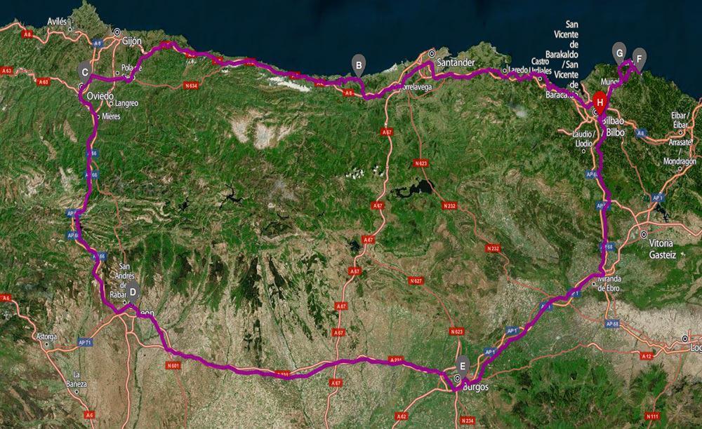 itinerario di viaggio paesi baschi