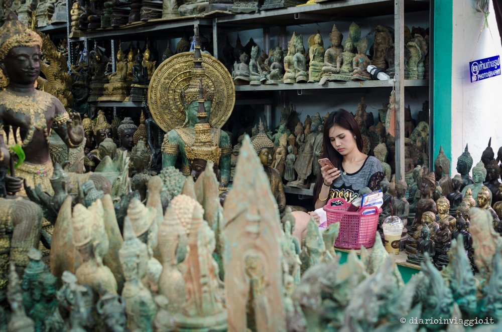 Mercato degli amuleti - Bangkok