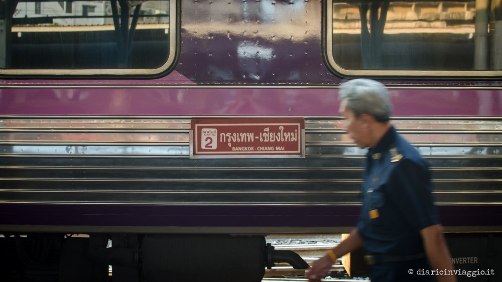 Treno per Chiang Mai