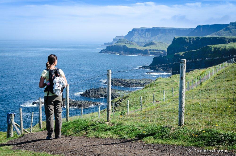 trekking lungo la giants causeway