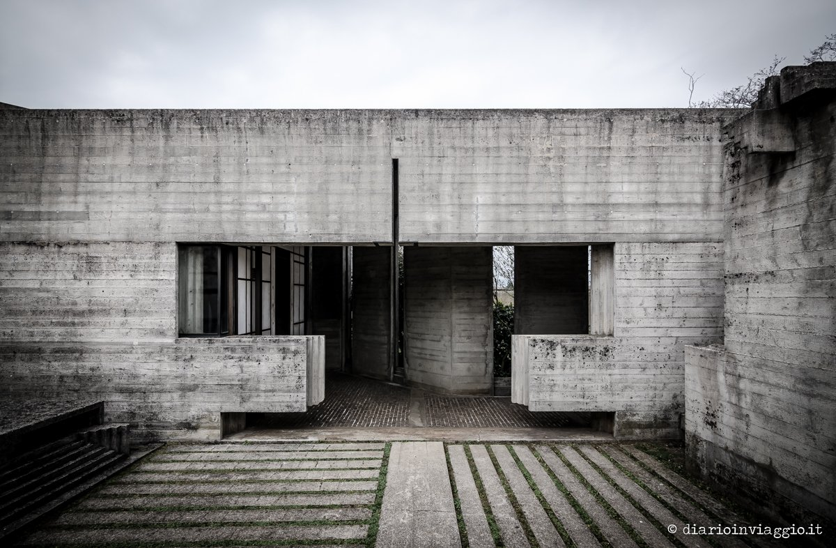 Tomba brion Carlo Scarpa