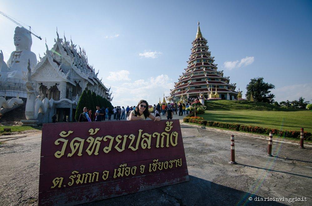 Pagoda di Wat Huay Pla Kung