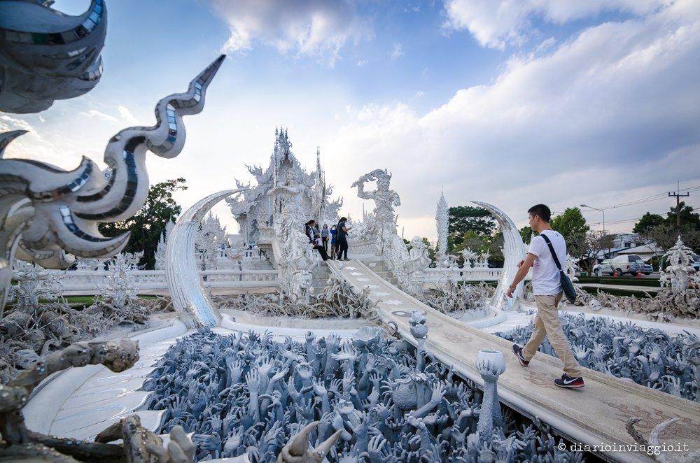 Wat Rong Khun (Tempio Bianco) chiang rai