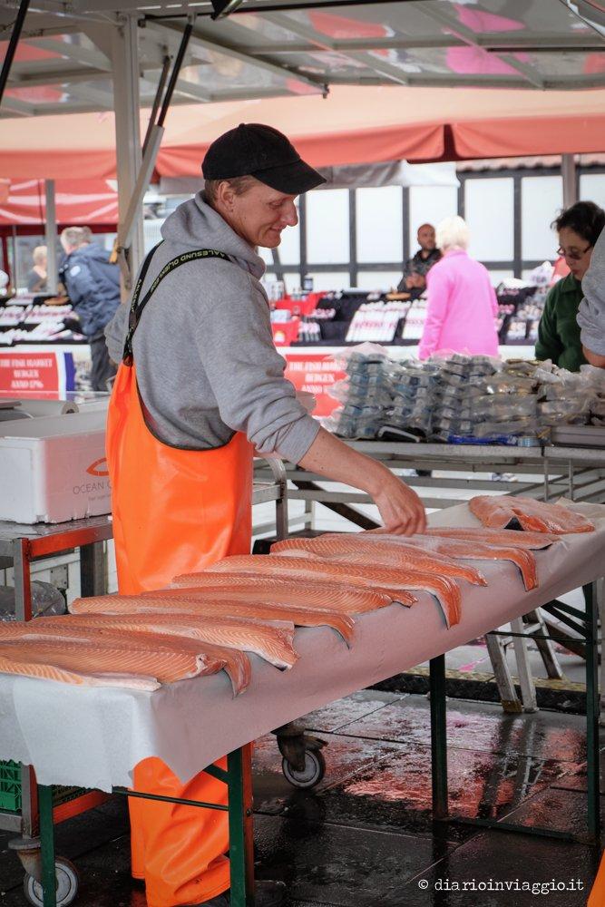 cosa fare a bergen mercato del pesce