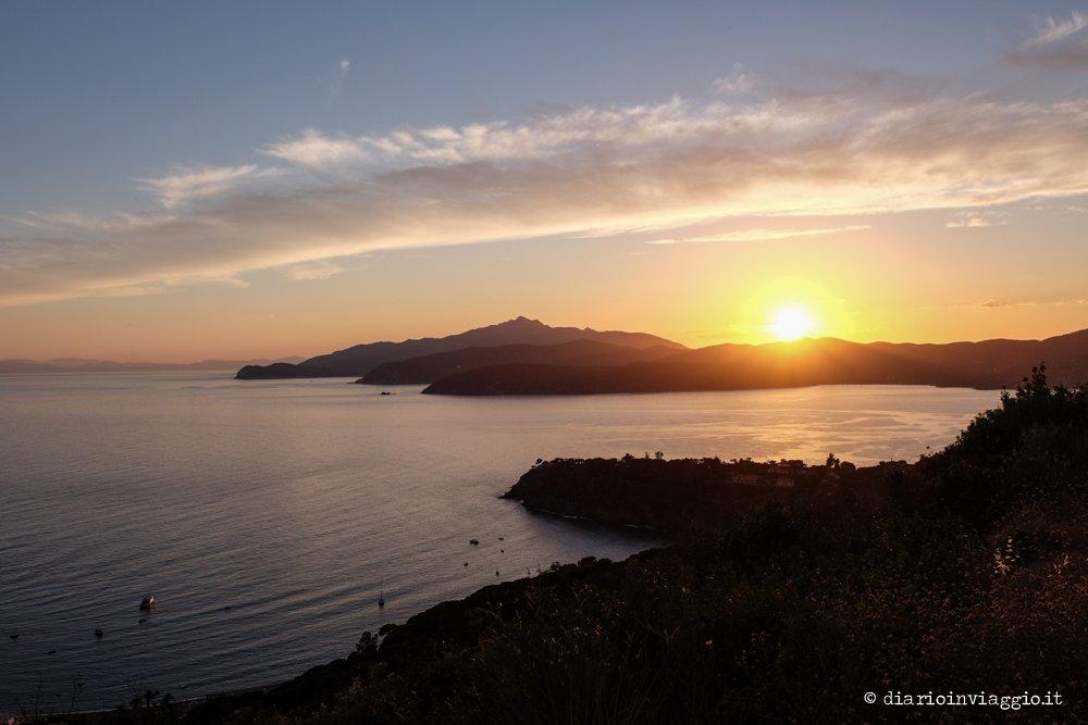 tramonto capoliveri elba