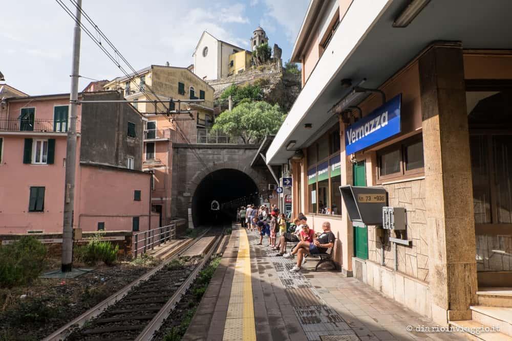 cinque terre in treno