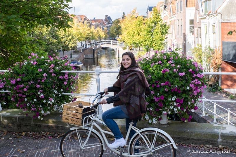 itinerario in bicicletta a leida
