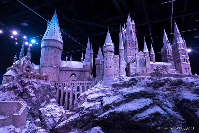 hogwarts in the show londra